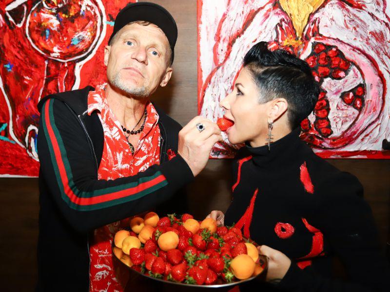Ирина Третьяк и Олег Скрипка